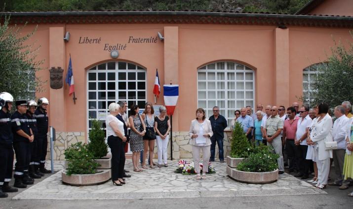 Inauguration Place Louis Pagliardini