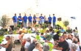 Léquipe des jeunes roquettans, membres du comité des fêtes