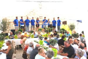 L'équipe des jeunes roquettans, membres du comité des fêtes