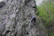 Site d'escalade Roche Abeï interdit